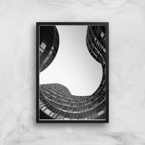 Wavey Architecture Giclee Art Print