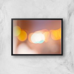 Blurry Lights Giclee Art Print