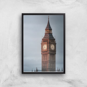 Big Ben Giclee Art Print