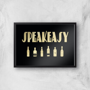 Speakeasy Giclee Art Print