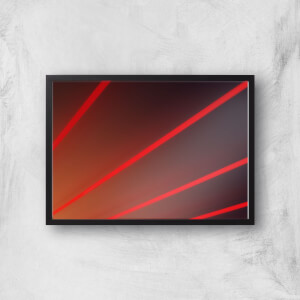 Red Lines Giclee Art Print