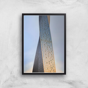 Twisted Building Giclee Art Print