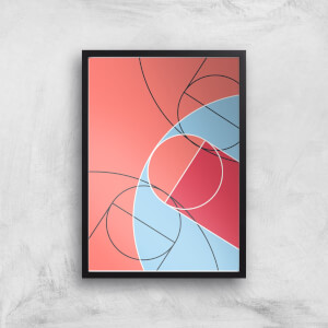 Abstract Court Giclee Art Print
