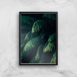 Dark Leaves Giclee Art Print