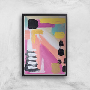 Abstract 60's Giclee Art Print