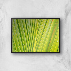Textured Leaf Giclee Art Print