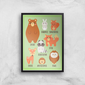 Woodland Gang Giclee Art Print