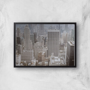 City Scape Giclee Art Print