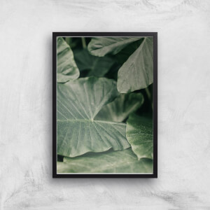 Layers Of Leaves Giclee Art Print