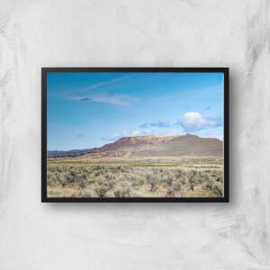 Barren Plains Giclee Art Print