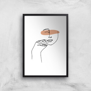 A Cheeky Grin Giclee Art Print