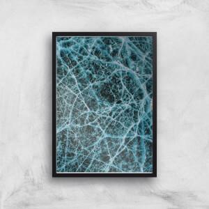 Frozen Water Giclee Art Print