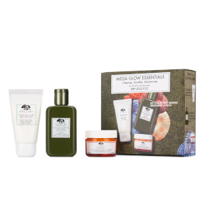 Origins Cleanse, Shroom and Moisturise Mega Glow Set for Oily Skin