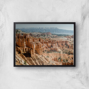 Rocky Outcrops Giclee Art Print