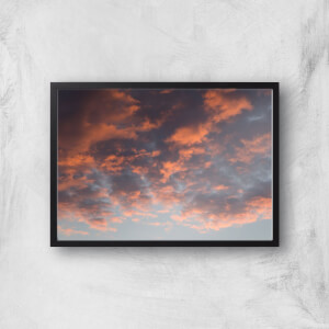 Cloudy Sunset Giclee Art Print