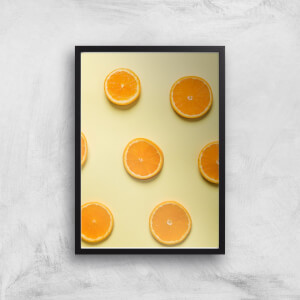 Orange Slices Giclee Art Print