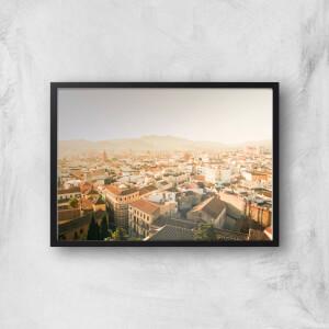 Barcelona Giclee Art Print