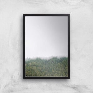 Clouded Forest Giclee Art Print