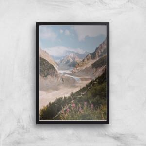 Trail Through The Mountain Giclee Art Print