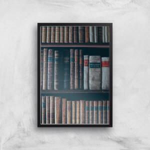 Old Books Giclee Art Print