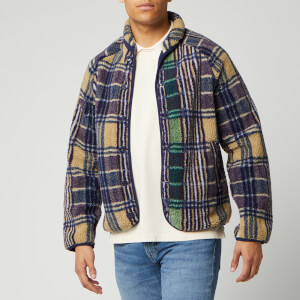 YMC Men's Beach Jacket - Madras Check