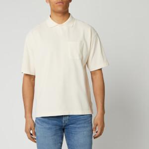 YMC Men's Frat Polo Shirt - Ecru