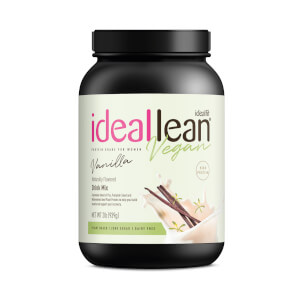 IdealLean Vegan Protein - Vanilla - 30 Servings