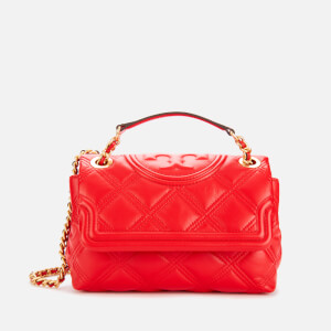 Tory Burch Women's Fleming Soft Small Convertible Shoulder Bag - Brilliant Red