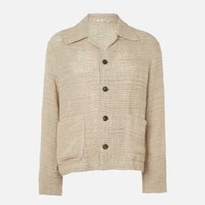 Our Legacy Men's Coach Shirt - Beige Sack Shirt