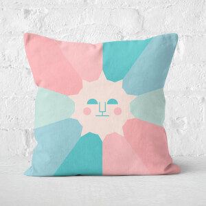 Colours Of Day And Night Square Cushion