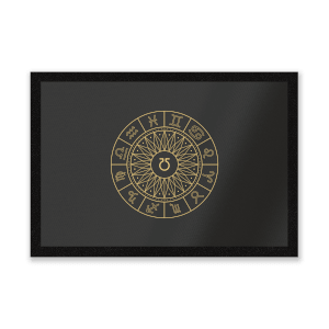 Decorative Horoscope Symbols Entrance Mat