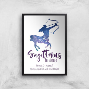 Sagittarius The Archer Giclée Art Print