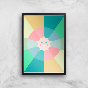 Colours Of The Day Giclée Art Print