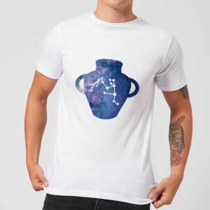 Aquarius Men's T-Shirt - White