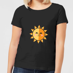 The Sun Women's T-Shirt - Black
