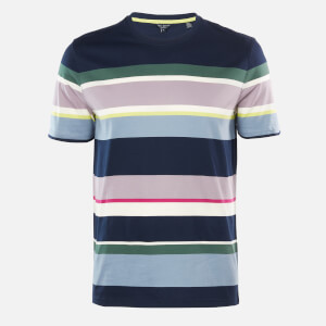 Ted Baker Men's Sleep Striped T-Shirt - Navy
