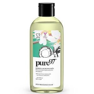 pure97 Jasmin & Kokosnussöl Shampoo Für Trockenes Haar