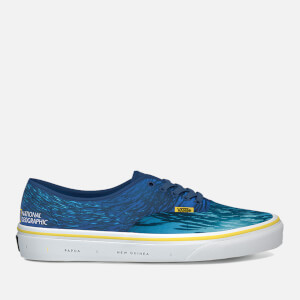Vans X National Geographic Authentic Trainers - Ocean/True Blue