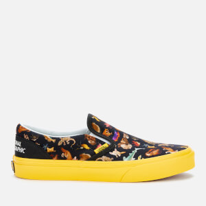 Vans X National Geographic Toddlers' Classic Slip-On Trainers - Photo Ark