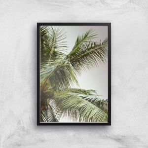 Palm Trees Above Me Giclee Art Print