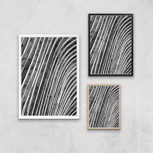 Wood Waves Giclee Art Print