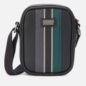 Ted Baker Men's House Mini Flight Cross Body Bag - Black
