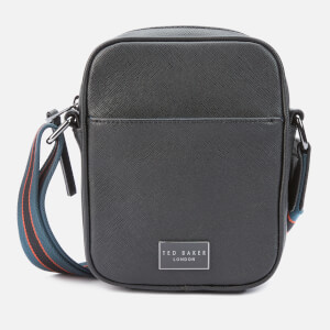 Ted Baker Men's Porthos Mini Flight Cross Body Bag - Black