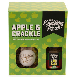 The Snaffling Pig Apple & Crackle Gift Set