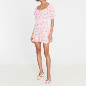 Faithfull the Brand Women's Sage Mini Dress - Juliette Floral