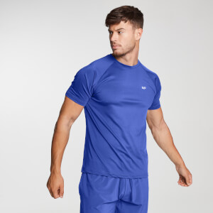 MP Herren Printed Training T-Shirt - Cobalt