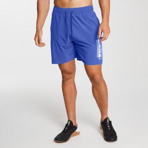 Men's Printed Training Shorts - Cobalt