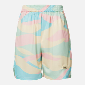Drôle de Monsieur Men's Mesh Ice Cream Shorts - Multi