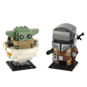 Lot LEGO Star Wars: Le Mandalorien et l'Enfant