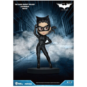 Beast Kingdom The Dark Knight Trilogy Catwoman Mini Egg Attack Figure